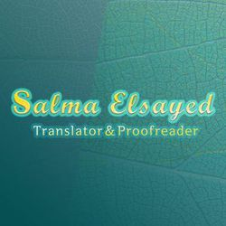 Salma Elsayed - English to Arabic translator